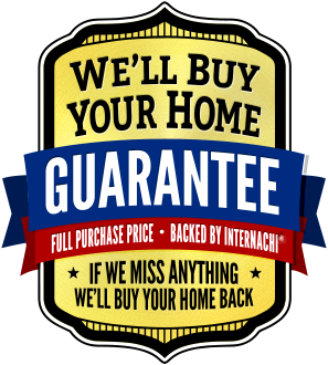 "InterNACHI ""We'll Buy Your Home"" Buyback Guarantee logo"